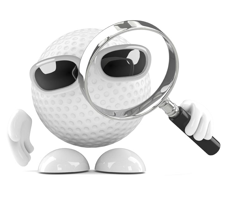 error golf ball