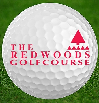 Redwoods Golf Course App Logo