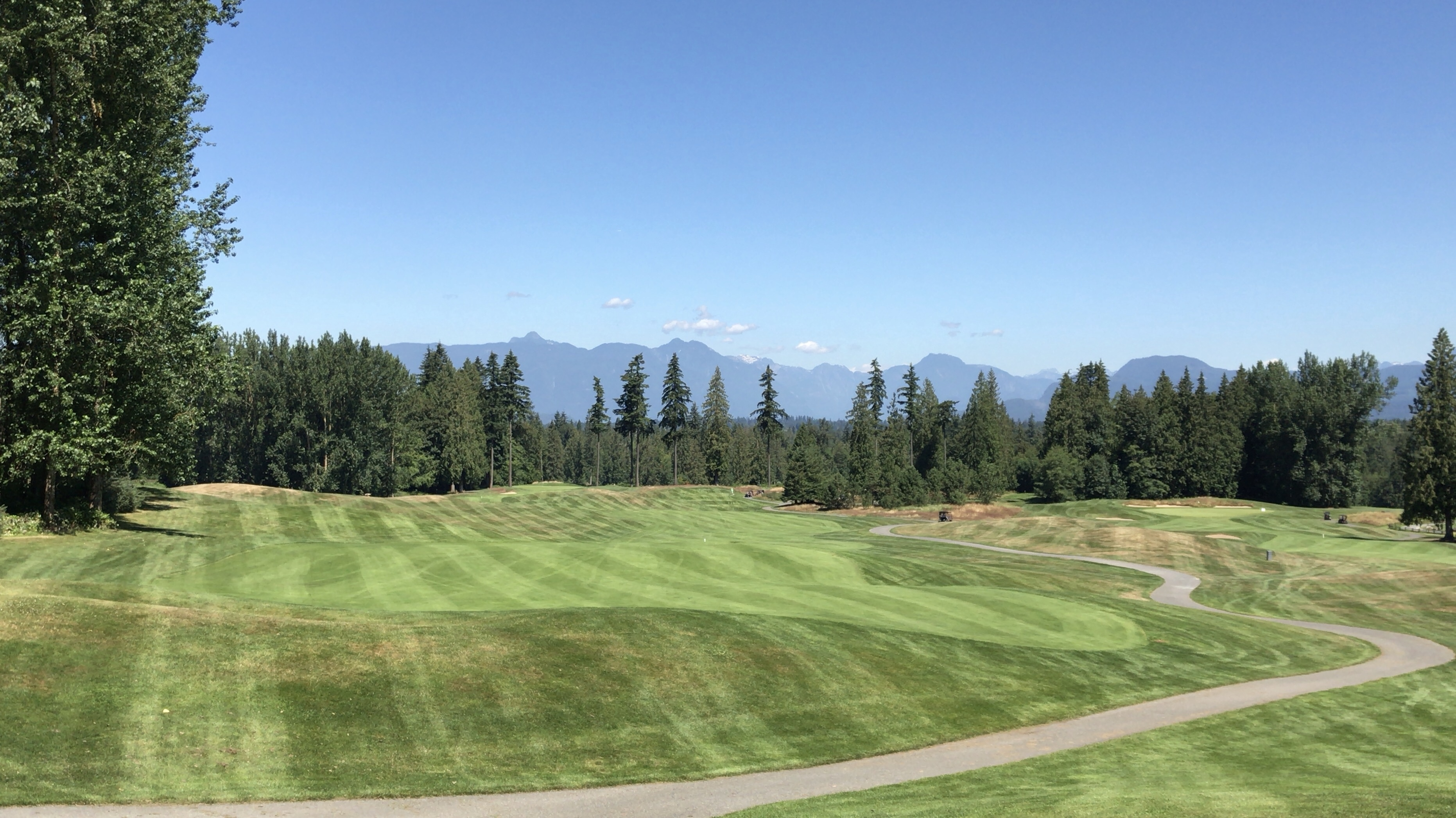 July at Redwoods Golf Course