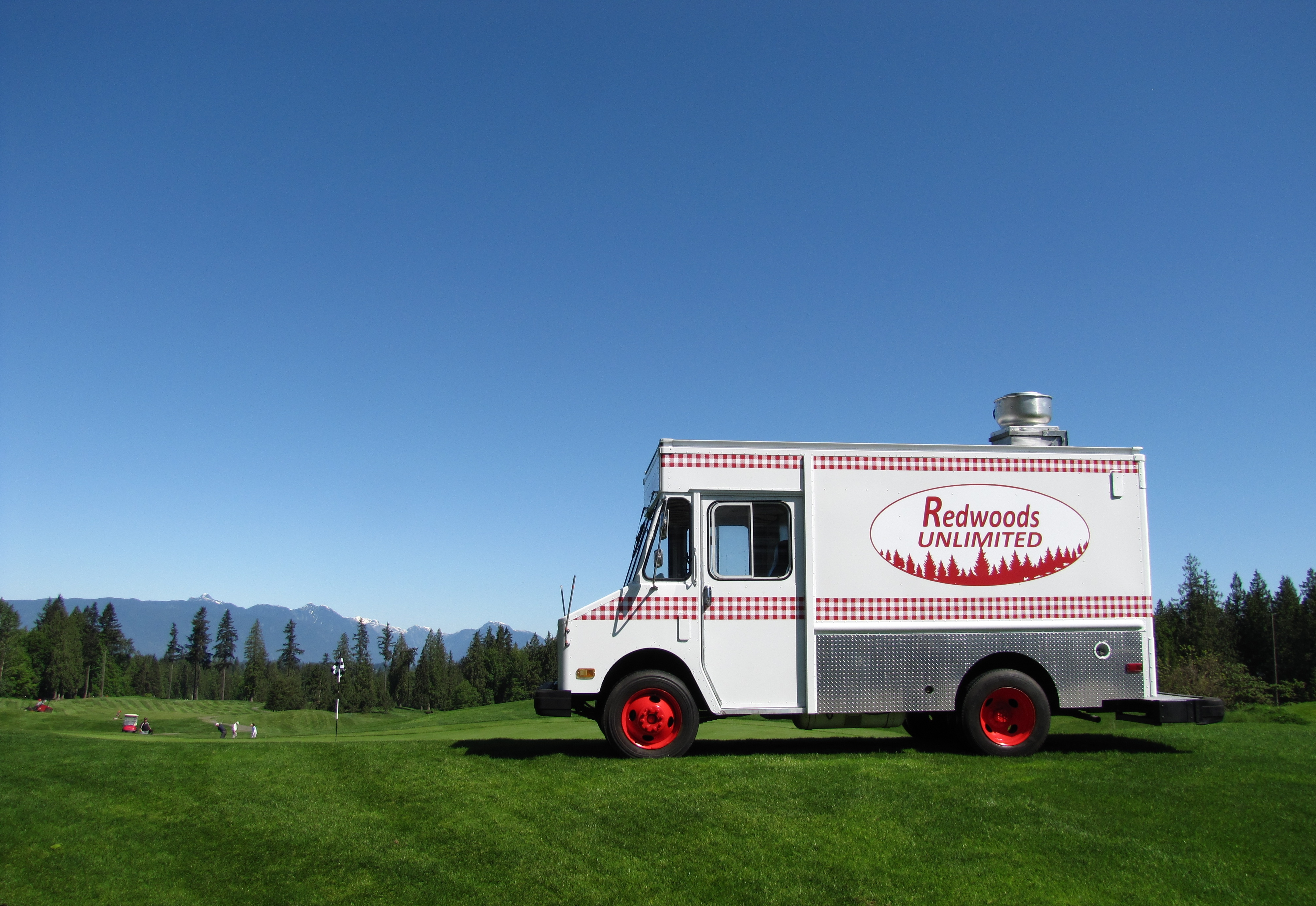 Redwoods food truck