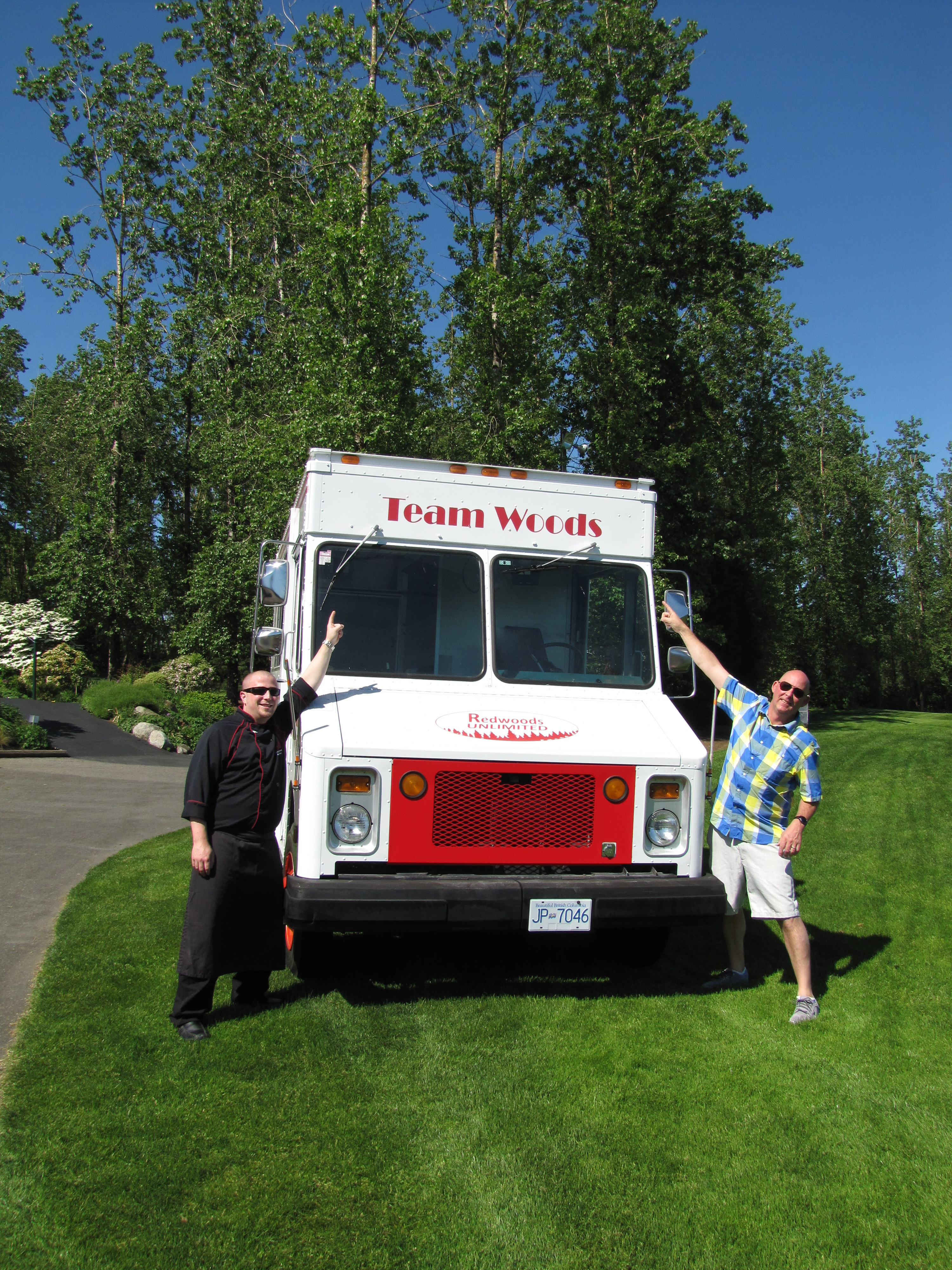 Team woods food truck
