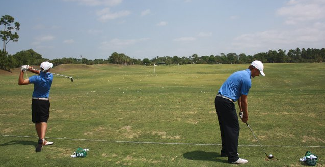 Scotts blog pic - golf warm ups