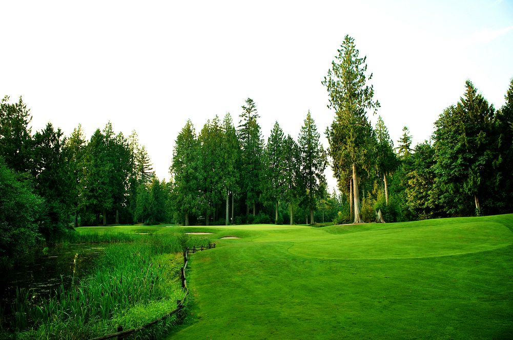 redwoods standard golf course