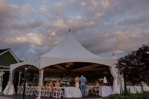 Reception Tent Outside